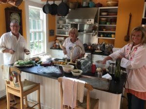 John Carafoli, a Cape Cod based Author and Food Stylist, offers tips on entertaining